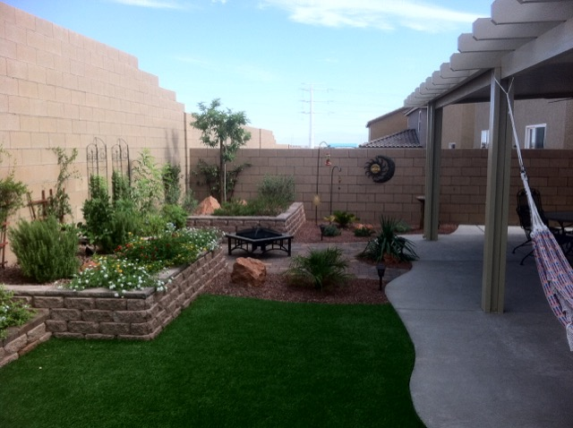 Las Vegas Backyard Model Frontier Landscaping Inc  702 3410205